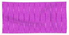Purple Janca Abstract Panel #1151ew1abrp Hand Towel