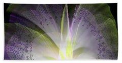 Purple Lace Hand Towel