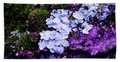 Purple Moss Hand Towel