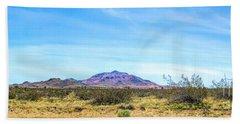 Purple Mountain Panoramic Hand Towel