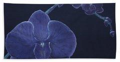 Purple Orchid Hand Towel