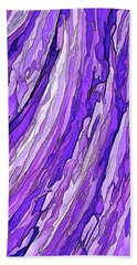 Purple Passion Bath Towel
