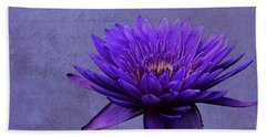 Bath Towel featuring the photograph Purple Passion by Judy Vincent