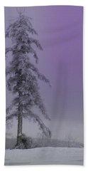 Purple Pine Bath Towel