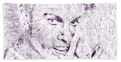 Purple Rain By Prince Hand Towel