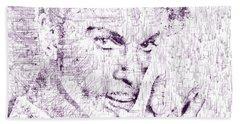 Purple Rain By Prince Bath Towel