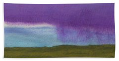 Purple Rain Hand Towel