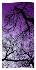 Purple Sky Hand Towel