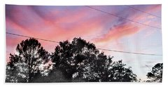 Purple Sky Bath Towel