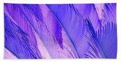 Purple Hues Hand Towel
