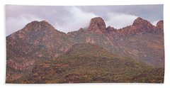 Pusch Ridge Tucson Arizona Bath Towel