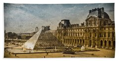 Paris, France - Pyramide Hand Towel