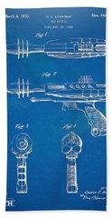 Pyrotomic Disintegrator Pistol Patent Bath Towel