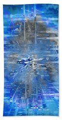 Hand Towel featuring the photograph Quantum Reflections by Kellice Swaggerty