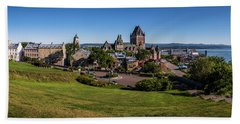 Quebec City Panorama Bath Towel