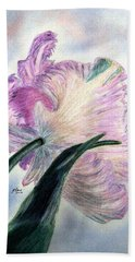 Queen Of Spring Hand Towel by Angela Davies