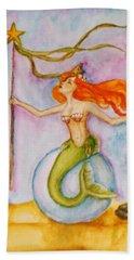 Queen Of Staves, Milandra Bath Towel