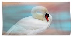 Queen Of The Lake Hand Towel by Wallaroo Images