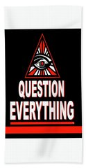 Question Everything Hand Towel