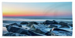 Quiet Beach Haven Morning II Hand Towel