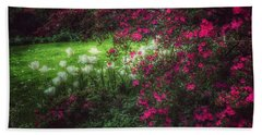 Quiet Garden - Evening's Edge Hand Towel
