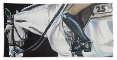 Quiet Ride Hand Towel by Stephanie Come-Ryker