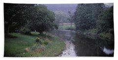 Quiet Stream- Woodstock, Vermont Bath Towel