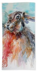 Rabbit Bath Towel