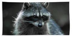 Raccoon 2 Bath Towel