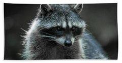 Raccoon 2 Bath Towel