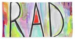 Rad- Art By Linda Woods Hand Towel