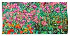 Radford Flower Garden Bath Towel