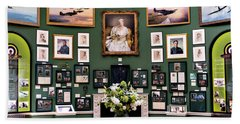 Hand Towel featuring the photograph Raf Bentley Priory by Alan Toepfer