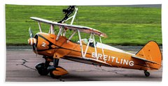 Raf Scampton 2017 - Breitling Wingwalkers At Rest Hand Towel