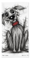 Rags The Dog Hand Towel