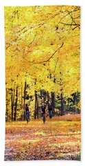 Autumn Glory On The Rail Trail Bath Towel