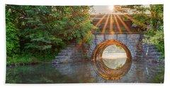 Railroad Bridge Hand Towel