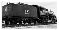 Railway Engine In Frisco Hand Towel