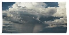 Hand Towel featuring the photograph Rain, Beautiful Rain  by Saija Lehtonen