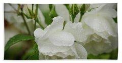 Rain Drops In Our Garden Hand Towel