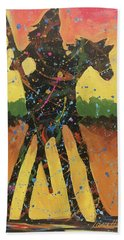 Rain Forest Rider Bath Towel