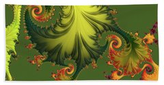 Rain Forest Bath Towel by Susan Maxwell Schmidt