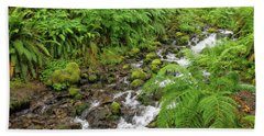 Rain Forest Waterfall Hand Towel