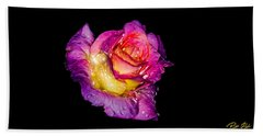 Rain-melted Rose Bath Towel