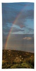 Rainbow Above Lagunas Hand Towel
