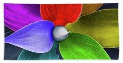 Rainbow Agave Hand Towel