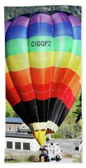 Rainbow Balloon 5 Bath Towel