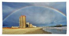 Rainbow Beach Hand Towel
