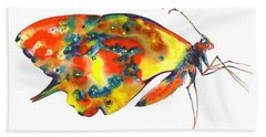 Rainbow Butterfly Hand Towel