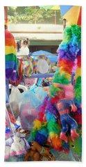 Rainbow Cart Hand Towel